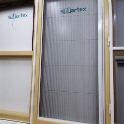 China Fabricación resistente al agua de la pantalla de pliegues Plisse malla mosquitera plisada luneta