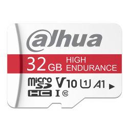 بطاقة Dahua High Endance سعة 32 جيجابايت 64 جيجابايت Micro SD سعة 128 جيجابايت TF-S100 بطاقة ذاكرة C10 U3 V30 A1 TF