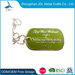 포도밭 알루미늄 메탈에서 맞춤형 제작 프로모션 선물 개 태그 (015)
