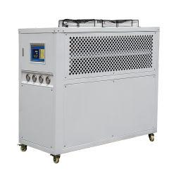 Industriel Compact de recirculation refroidi par air de refroidissement chiller de l'eau de la machine de défilement