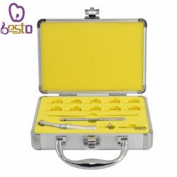 4: 1 Verkleinerungs-langsamer Druckknopf gegen Winkel Handpiece die zahnmedizinischen orthodontischen Hilfsmittel, die mit Ipr-Systems-Kursteilnehmer-Klage hin- und herbewegen