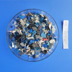 De PP-Natural Grau de PP reciclar materiais triturados Flocos de polipropileno