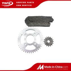 Roda Dentada do motociclo e Kit de corrente de Moto Peças para a Titan-150
