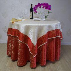 Высокое качество за круглым столом тканью свадьбы крышки стола