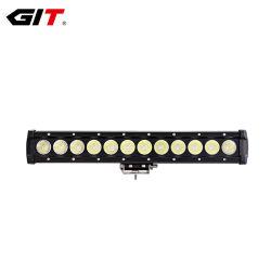 قضيب مصباح LED منخفض التكلفة بقوة 120 واط، 25 بوصة، صف واحد، 5 واط (GT3500-120)