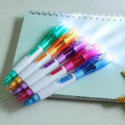 Penna a sfera multifunzionale con logo personalizzato