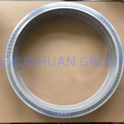 Binnen- en buitenring met hoge snelheid, ronde metalen afdichting met spiraal Pakking