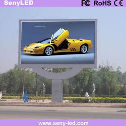 P6mm 屋外ビデオビルボード商用 LED 広告ディスプレイファクトリー