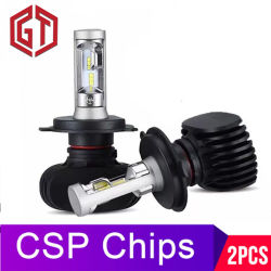 2PCS H7 LED H4 Selbstauto-Scheinwerfer 9005 9006 H3 H13 H8 880 H27 9004 9007 H11 LED H1 S1 50W 8000lm 6500K Automobil-Birne Csp Lampe