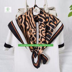 70성급 스위트 실크 스퀘어 헤주소 & 크라바트 패션 여성용 장식 선물 스카프