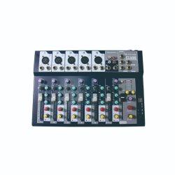 7 Kanäle USB-Mischer mit 5 Monomikrofon, dem 1 Zeilen-eingegebenen und 1 Stereoinput