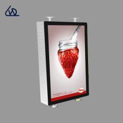 43 polegadas LCD de tela montada na parede com HD e 2500nits TV Monitor impermeável