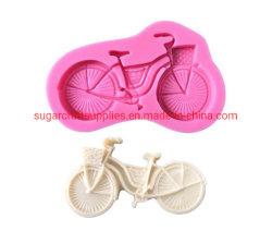 자전거 퐁당 케이크 몰드 슈가르프트 자전거 장식 몰드 쿠키 도구