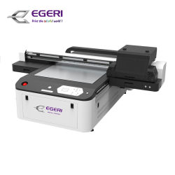 Egeri 소형 체재 평상형 트레일러 인쇄 기계 게시판 UV 인쇄공, 간판 인쇄공, 작은 DIY 제품 UV 잉크젯 프린터, Mu6090 실린더 객체 인쇄 기계 병 컵 찻잔