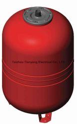 Aquecimento Memrabe vertical vermelha vaso de pressão para sistema de caldeira