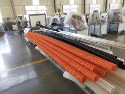 이중 스크류 플라스틱 압출기 기계, PE PP PS PVC용 압출기 제조