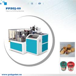 수프 비스크 테이크아웃 페이퍼 콘테이너 컵 뚜껑 만들기 기계