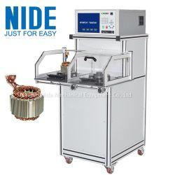De kwaliteit automatiseerde Elektrische het Testen van de Stator van de Motor van de Ventilator Machine voor het Winden van de Motor van de Inductie Test