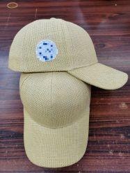 Em 2021, a última fabricante de toda a rede fornecerá Basebol Personalizados Tecidos Caps com palha de papel. Tampas de beisebol feitas de Palha