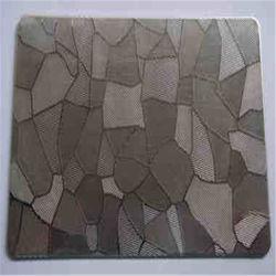Из нержавеющей раковиной PVD покрытие Gold рельефным стальной лист