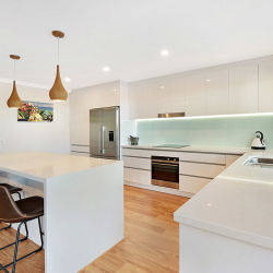 Современная мебель из кухонных шкафов с отделкой High Gloss Lacquer