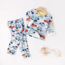 Nuevo Niño ropa de otoño de la leche caliente tejido de seda de desgaste de los niños para dormir, ropa de bebé