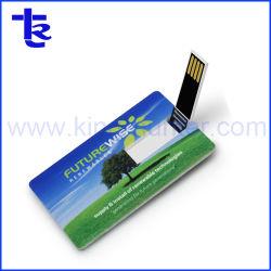 Comercio al por mayor de la tarjeta de crédito personalizada disco flash USB Tarjeta Negra de negocios