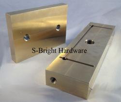 Piatto personalizzato americano di usura lavorato CNC del bronzo (S-079)