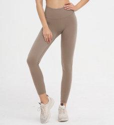 Nahtloses Yoga keucht Eignung-Klage-Eignung-Hosen-hohe Taillen-Strumpfhosen der Frauen