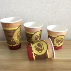 De Rang van het voedsel PLA die de Beschikbare Enige Kop van het Document van het Roomijs van de Melk van de Thee van de Koffie met een laag bedekken