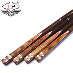 ペンキの3/4共同手掛りのないLPのスヌーカーの手掛り棒の灰シャフトの自然な木製のバット