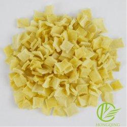 Copos de patata deshidratada rodajas de Papa Papa seca el aire legumbres secas de papa amarilla