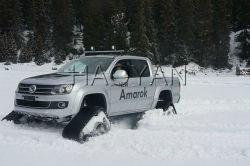 oruga de caucho Sistema de conversión de la zona de nieve