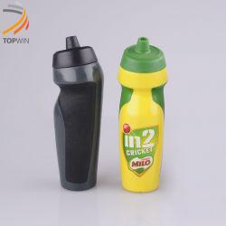 Förderndes kundenspezifisches Firmenzeichen 600ml PET Schüttel-Apparatgetränk Sports Wasser-Flasche