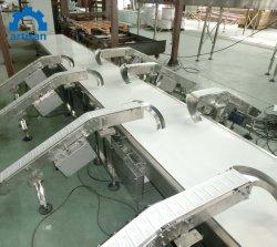 De telescopische RubberRiem van de Transportband van de Lading van de Container van de Vrachtwagen van de Transportband van de Riem