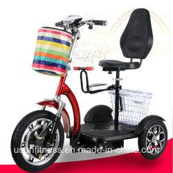 Три колеса электрического скутера мобильности с сиденья для детей и взрослых сиденья