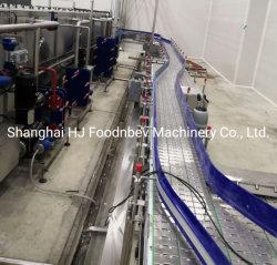 Transportador de cadena de acero inoxidable SS Cystem utilizado en cerveza/industria de bebidas