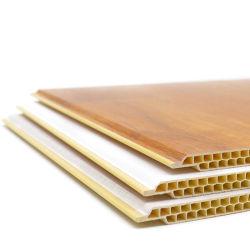 防音の防水木製のパネル屋内装飾的な切り分けられた内部PVC壁パネル