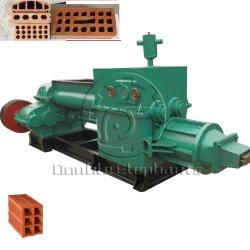Automatischer hohler Ziegelstein-Vakuumextruder für Lehm-Ziegeleimaschine