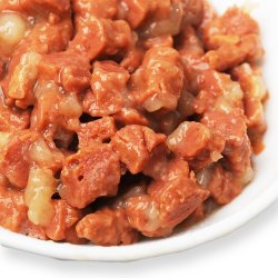 Etiqueta privada de las conservas de carne de pollo para perros alimentos húmedos sabor