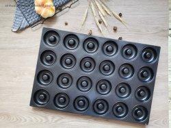 Heißer Verkauf kundenspezifische Industrie 24 Reihe des Krapfens Bakeware