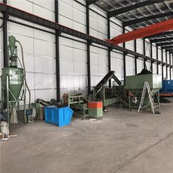 Pneu usado fábrica de produção de grânulos de borracha fina/Borracha regenerada, Máquina de processamento/Equipamentos de azulejos de Borracha