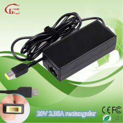 Notebook Fonte de alimentação 20V 3,25 UM 65W AC DC Power Adapter para IBM