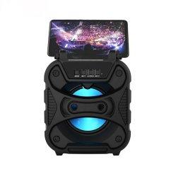 Bluetooth MP3 portable Téléphone de conférence d'accessoires Audio Vidéo Le Président Sound Box avec microphone sans fil FM audio USB
