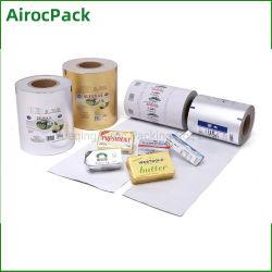 Food Grade Aluminium foil Wrap voor kaas en boter verpakking