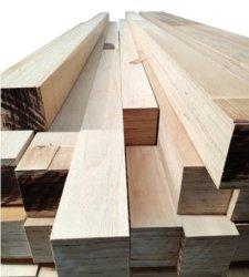 E0 folheado de madeira laminado de madeira contraplacada LVL Board para mobiliário de ripa de cama caixilho da porta e gaveta / Choupo folheado de madeira de pinho madeiras LVL