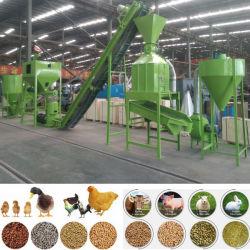 2020 de hete Korrel die van het Dierenvoer van het Gevogelte van de Fabriek van de Verkoop 1-2t/H Machine maken