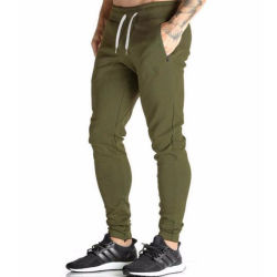 Pantaloni su ordinazione inferiori di ginnastica affusolati usura di forma fisica di ginnastica di sport del Mens