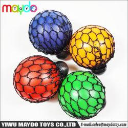 Le stress Squeeze Ball Balle Squishy Mesh raisin Le soulagement du stress toy sensorielle