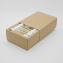 Premium бамбук хлопок рецепторы 100% биологически разлагаемое хлопка рецепторы пластиковые бесплатного продукта и упаковки